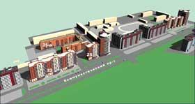 За четыре месяца 2007 года в области введено в эксплуатацию 314 тысяч 684 квадратных метра жилья