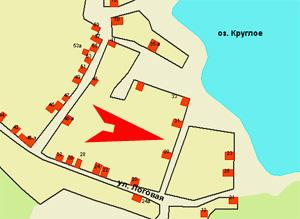 Еще один лот для частной застройки - земельный участок № 81 в Курчатовском районе, поселок Градский прииск (между домами 29 и 31 по улице Логовая), еще несколько дней будет ждать своего хозяина