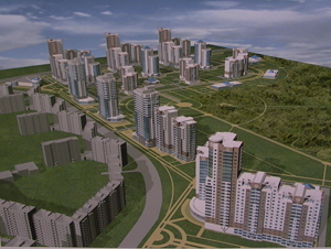 Проект застройки микрорайона № 13, который планируется построить на пересечении улиц Чичерина и 40 лет Победы, был одобрен вчера на заседании городского Градостроительного совета