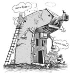 Первый челябинский вице-мэр проинспектировал ход капитального ремонта домов в Ленинском районе