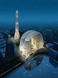 Дубай станет городом, в котором будет сосредоточено наибольшее число супербашен - зданий, насчитывающих сто и более жилых этажей