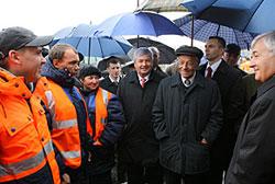 На прошедшей неделе, в пятницу, глава области принял участие в торжественной церемонии открытия после реконструкции участка федеральной трассы М-5 «Урал»
