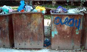 «ГорЭкоЦентр» может прекратить вывоз мусора из дворов, жилищные организации которых не платят МУП за работу