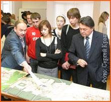 22 февраля состоялось награждение победителей конкурса «Образное архитектурное решение района Академический», проводившегося среди студентов УралГАХА