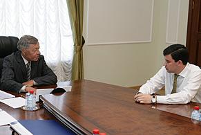 Петр Сумин и Юрий Фишер подписали план-график синхронизации выполнения программы по газификации региона
